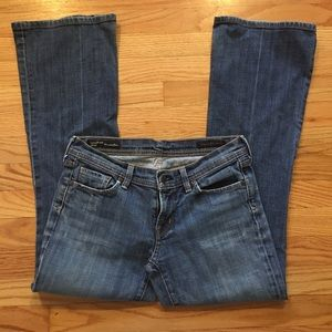 Citizens of humanity low waist flare size 29